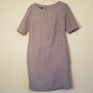 AGB sheeth dress sparkly Gray